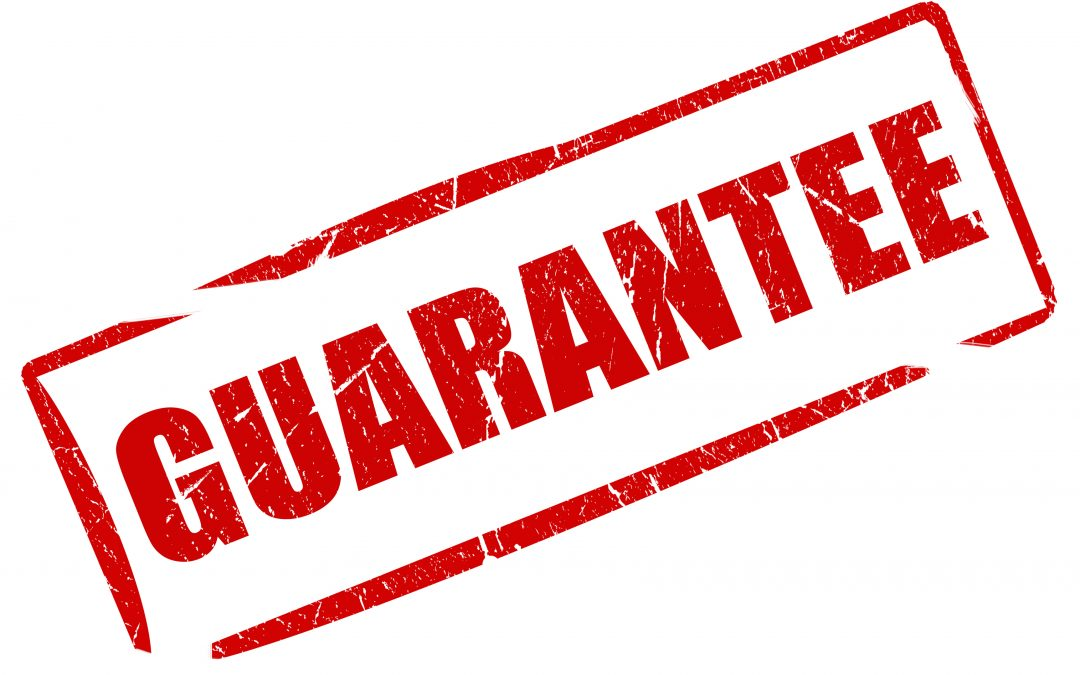 Our 50 Year Guarantee on metal Roofs